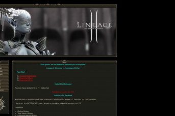 Lineage 2: Chronicle 1 - Harbingers Of War