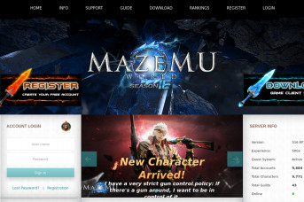 MAZE - Free MMORPG Project performed from heart